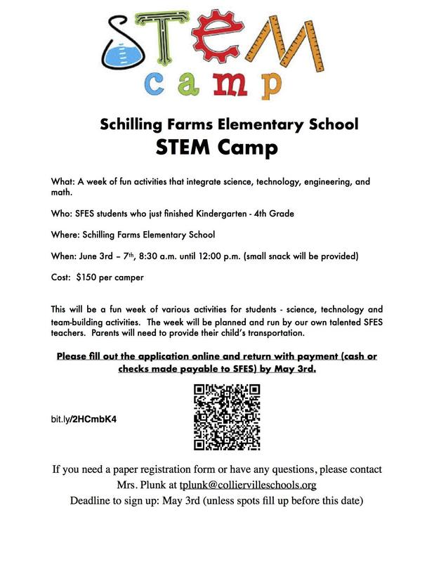 STEM-tastic Summer Camp at SFES! Featured Photo