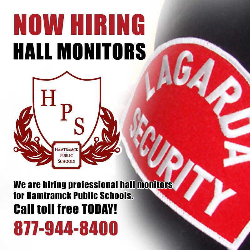 Hall Monitors Wanted! Featured Photo