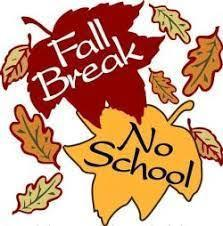 Fall Break Oct. 13th-15th Featured Photo