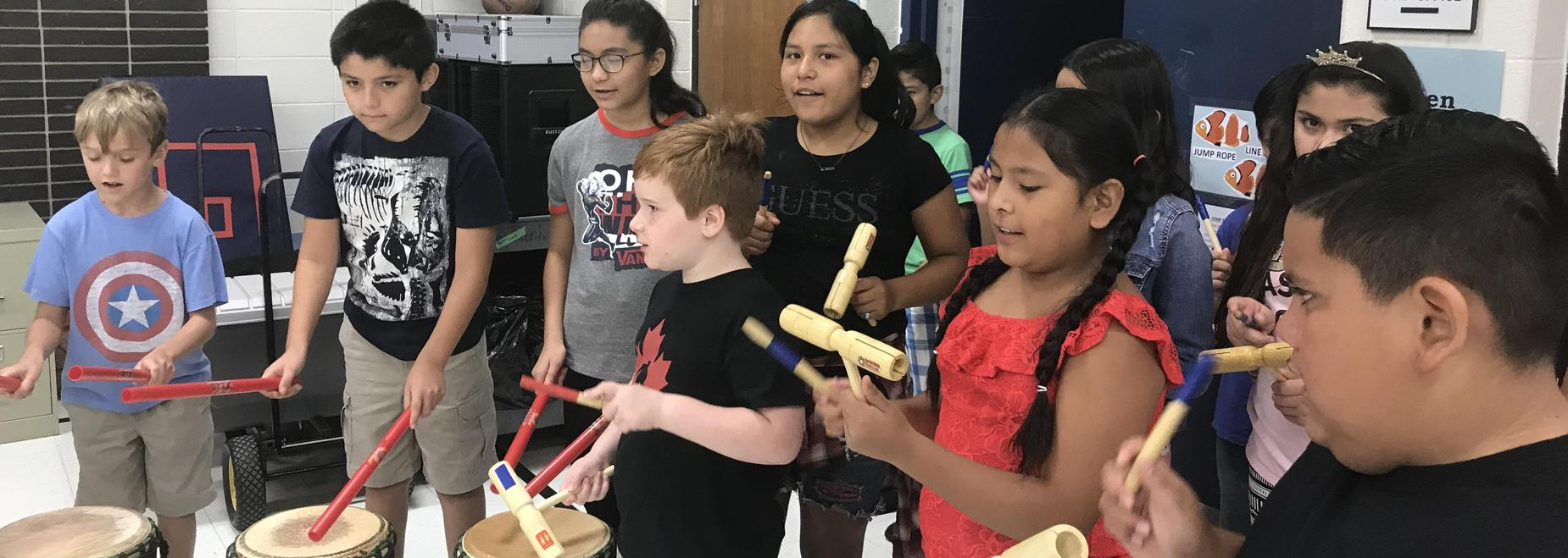 Dancing Drums Assembly