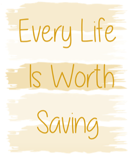 Every Life is Worth Living stylized text