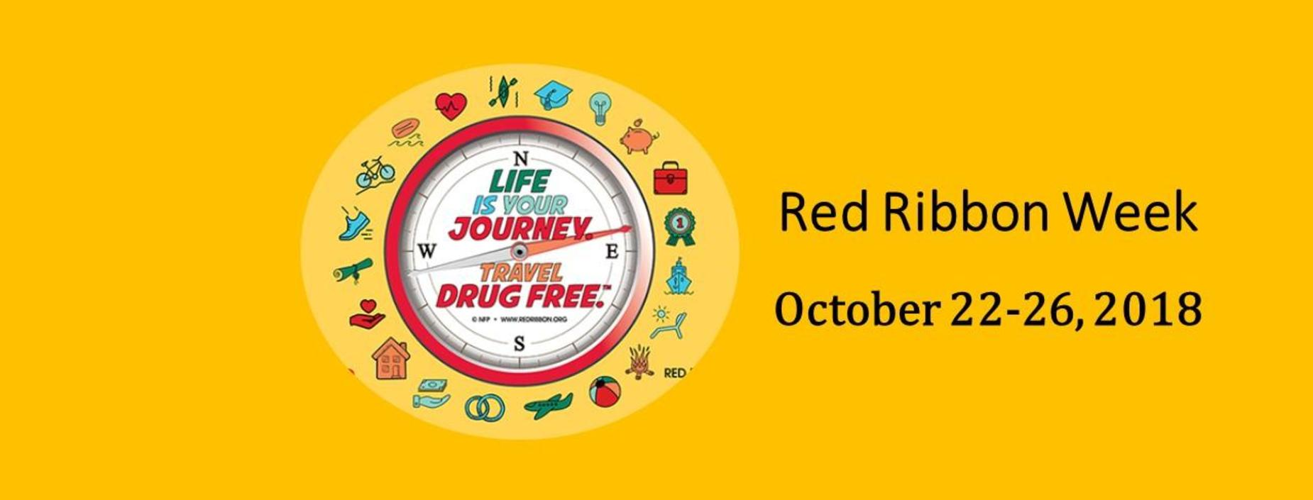 Red Ribbon Week banner