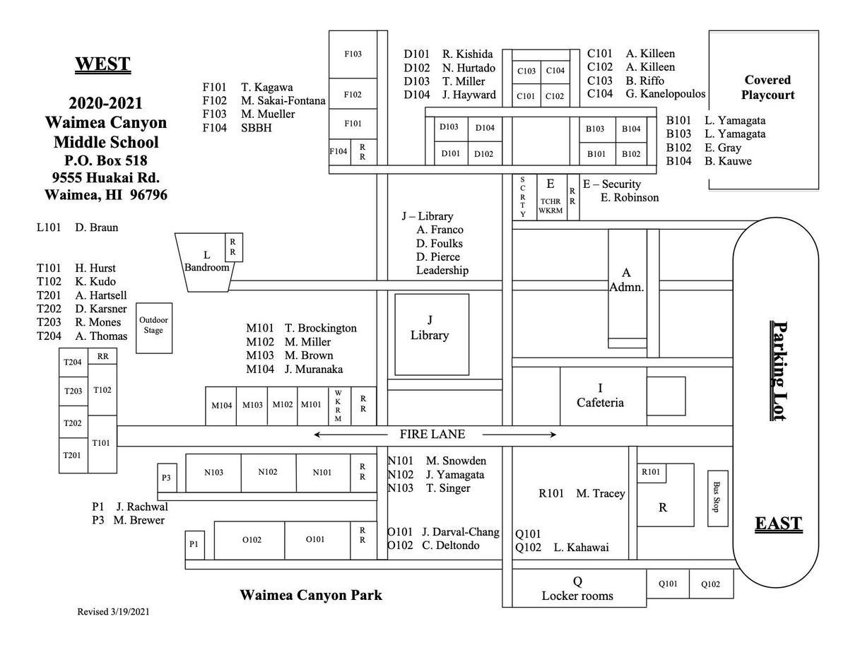 20-21 Campus Map