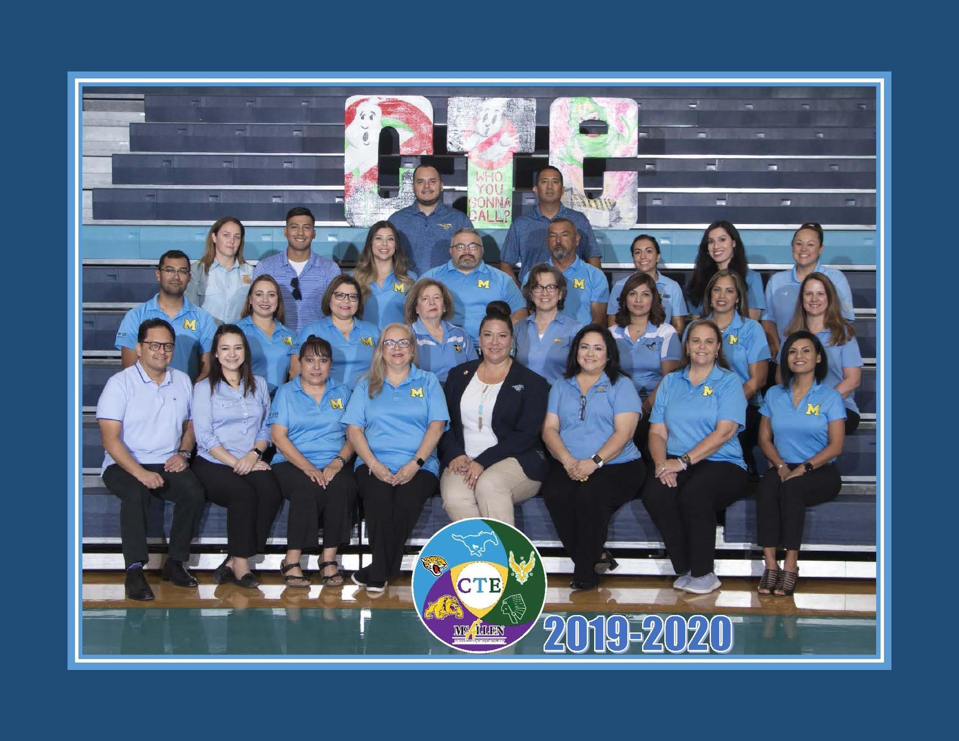 2019-20 CTE Staff