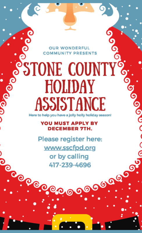holiday assistance flyer
