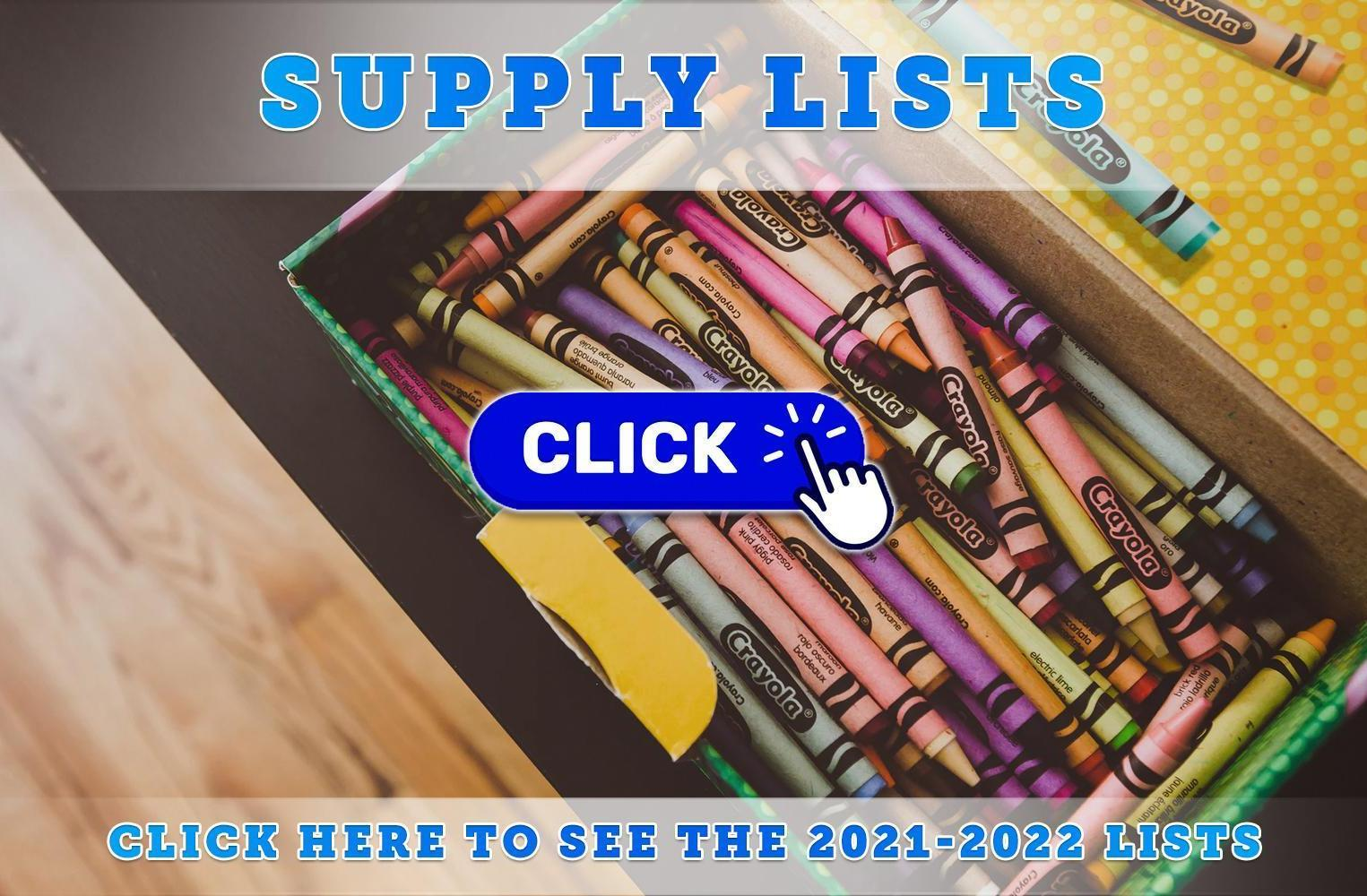 Suggested Student Supply List (2021-2022)