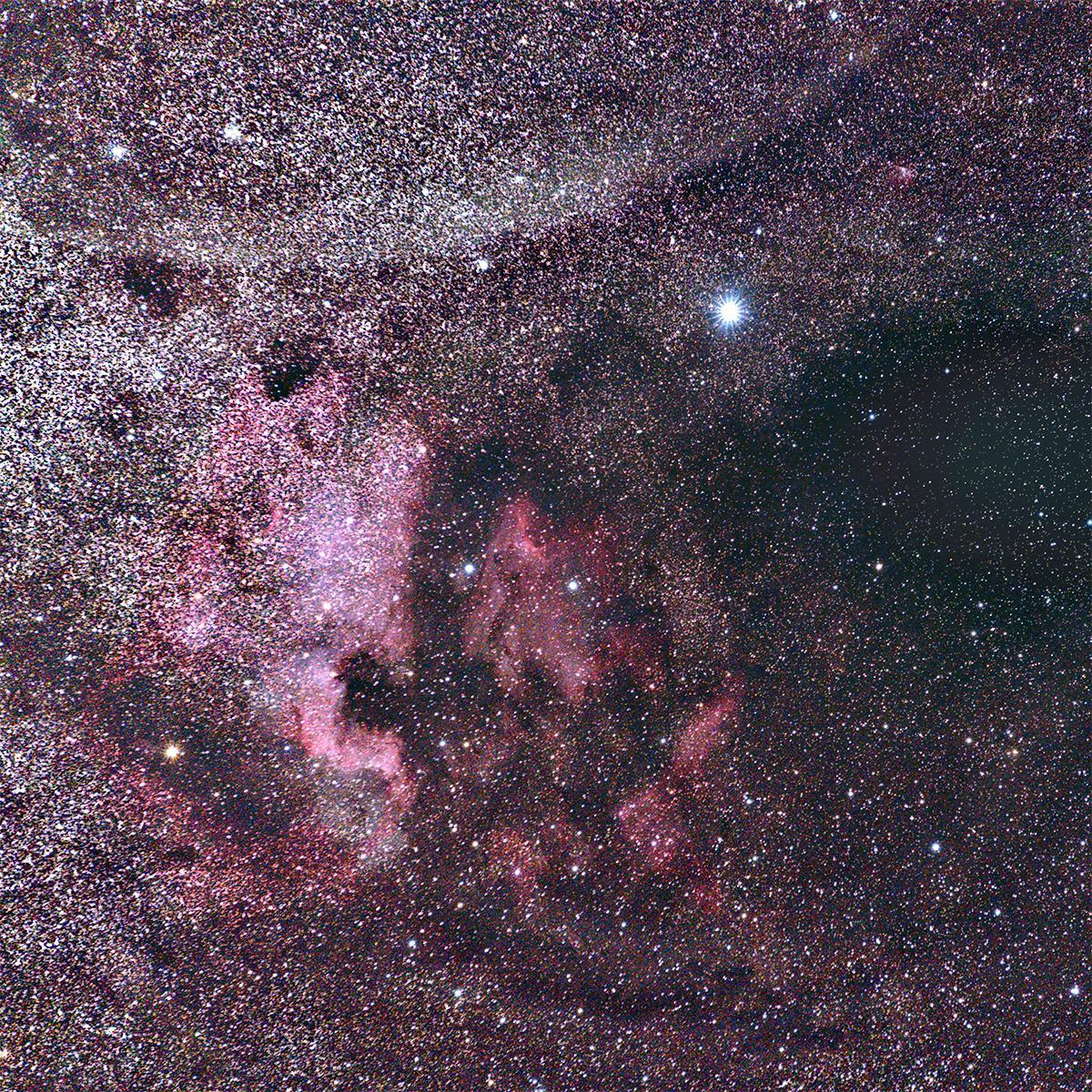 NA & Pelican Nebulae