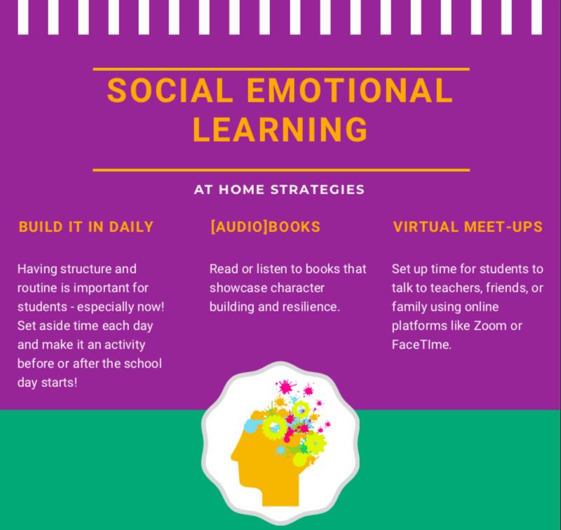 Social Emotional Learner at Home strategies.