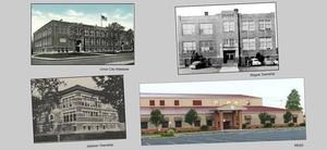 Historic images of UC Schools