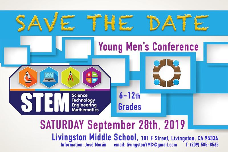 Young Men's Conference flyer