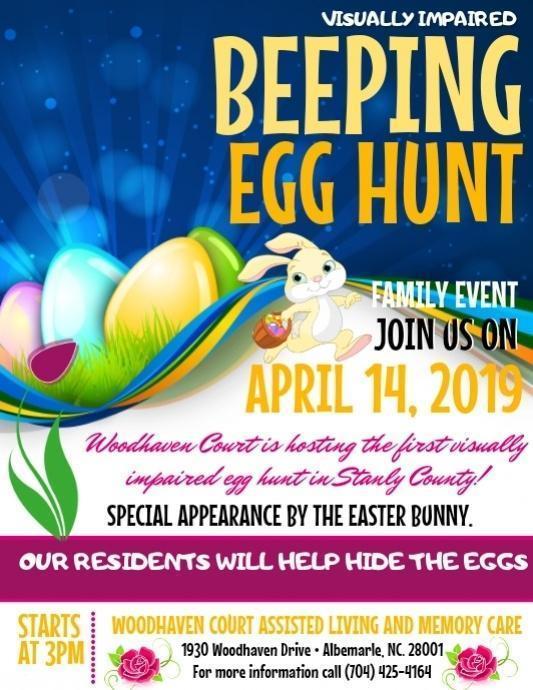 Beeping Easter Egg Hunt.JPG