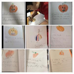 Pumpkin worksheets collage