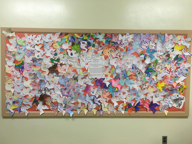 Peace Doves Bulletin Board