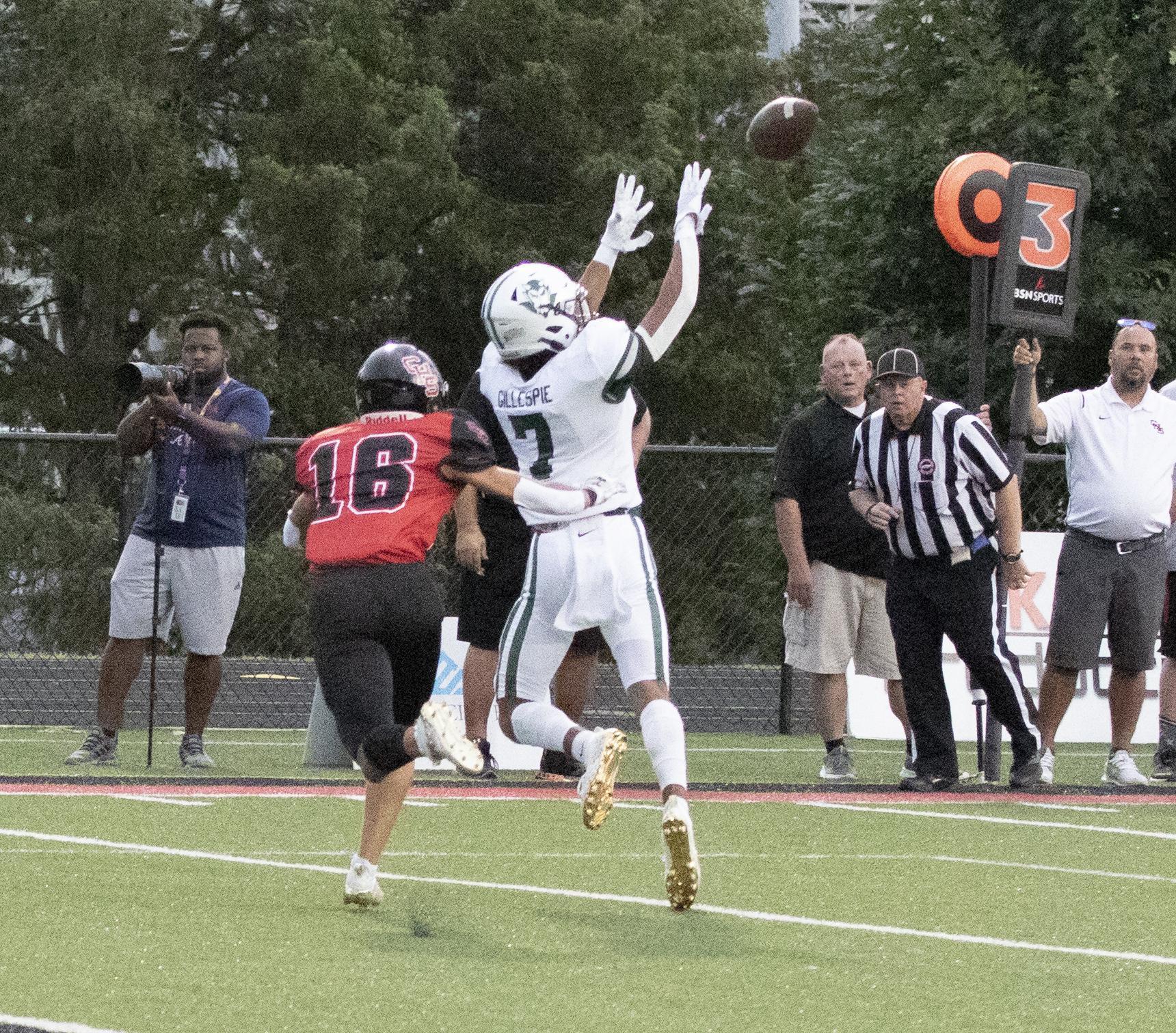 Jakobi with the catch