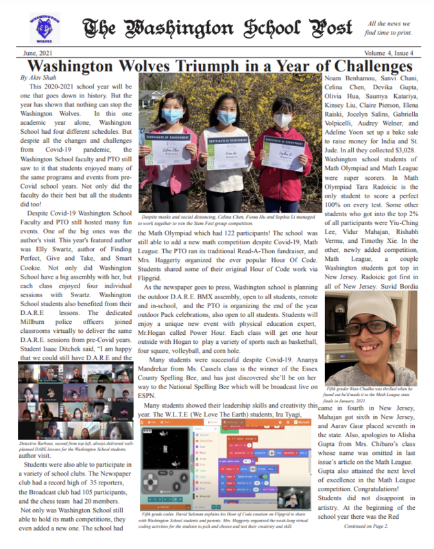 thumbnail of the washington post newspaper cover