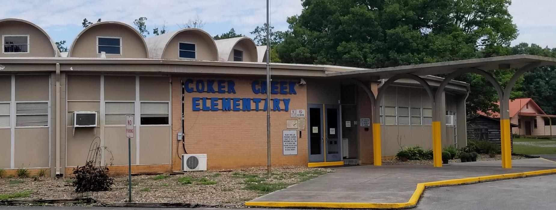 Coker Creek Elementary School building