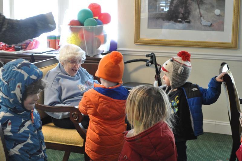 Preschool visit at Brandywine Senior Living Featured Photo