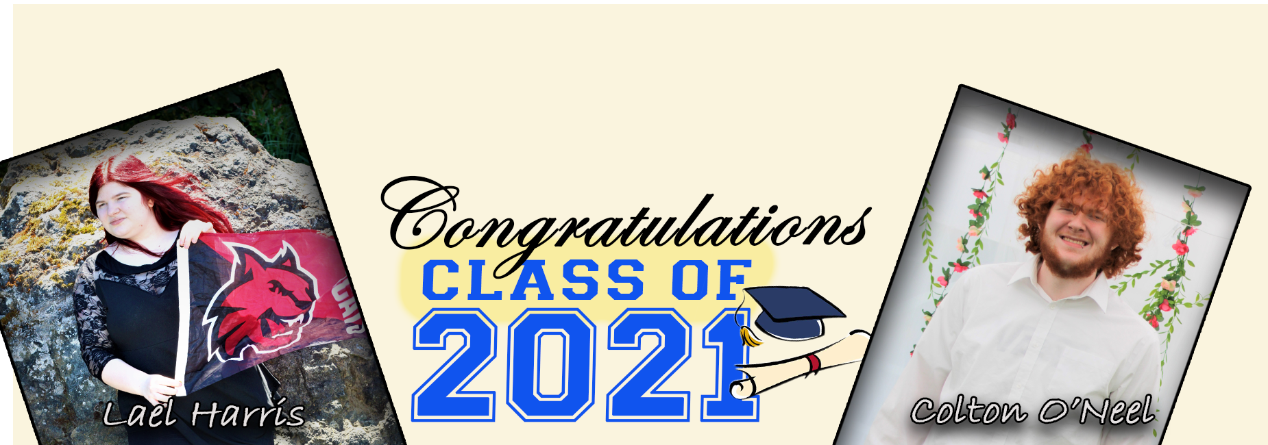 Class of 2021: L.Harris and C.O'Neel