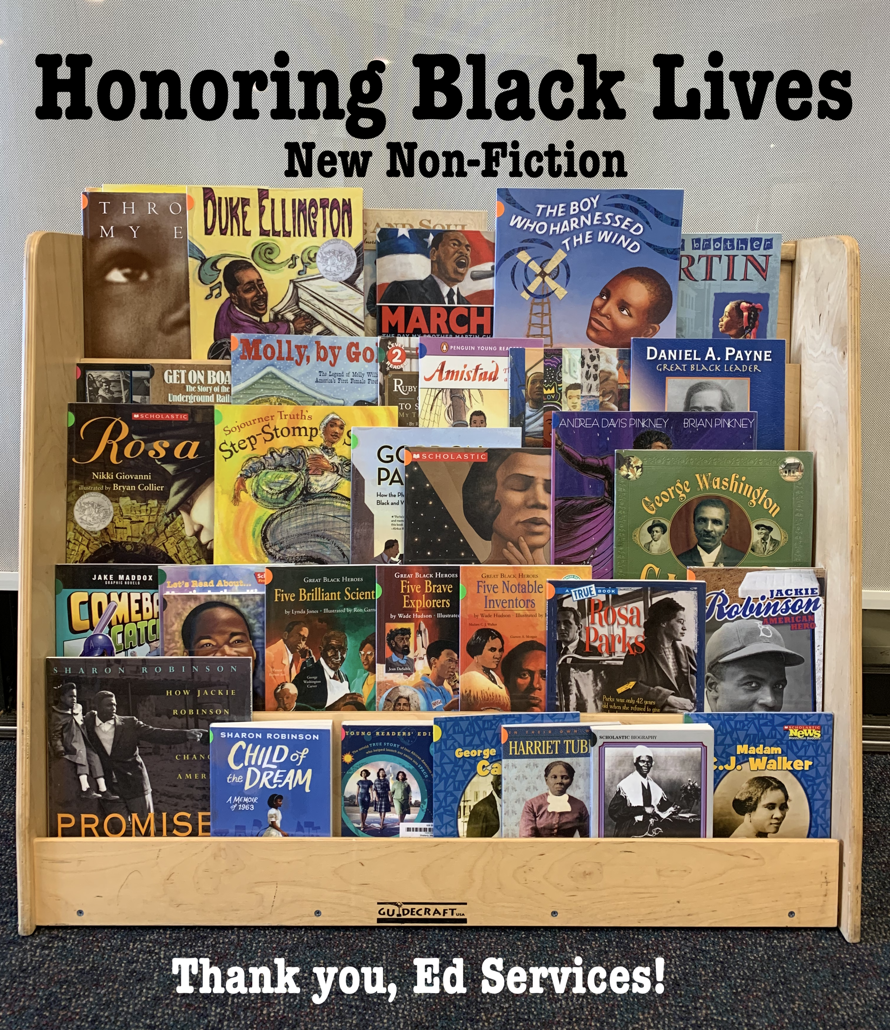 Honoring Black Lives New Non-Fiction