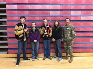 Canon City High Schools Army JROTC - 3rd place
