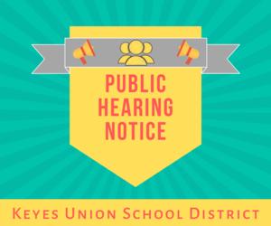 public hearing notice flyer