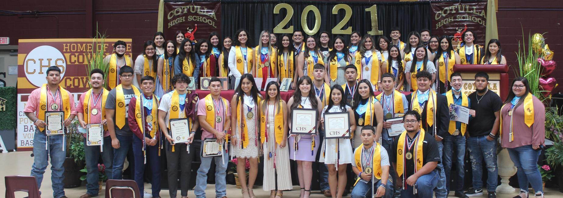 class of 2021 awards & Scholarships