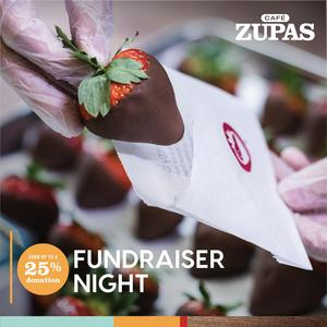Cafe Zupas Fundraiser Night Sept. 17th 5-9pm