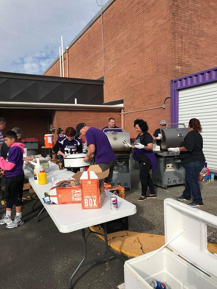 Parents BBQ for Football game