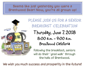 Senior Breakfast Invite