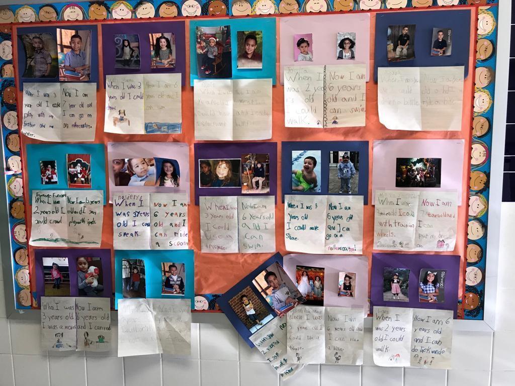 100 days of school writing activity display