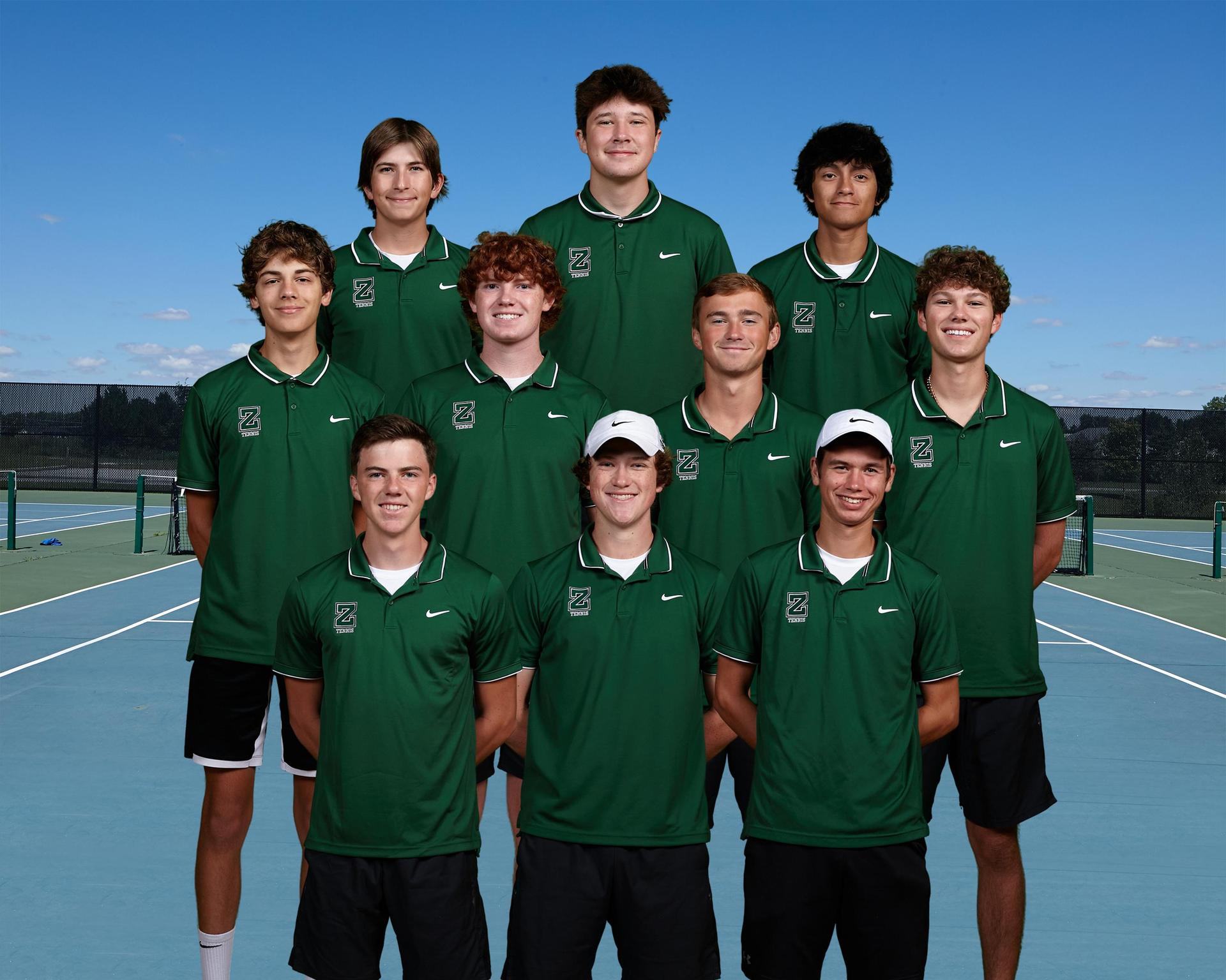 Boys Tennis Seniors