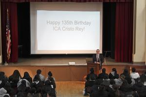 Happy B-Day ICA Cristo Rey