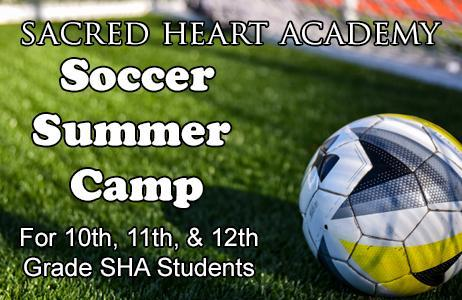 Registration Open for Soccer Camp for Sacred Heart Academy Students Featured Photo