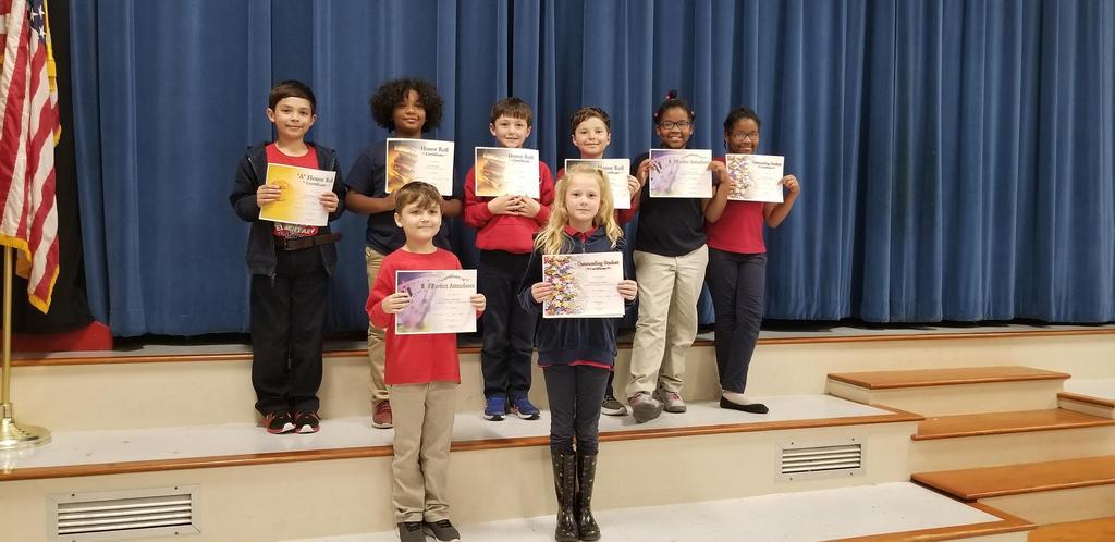 3rd Term Awards - 3rd Grade