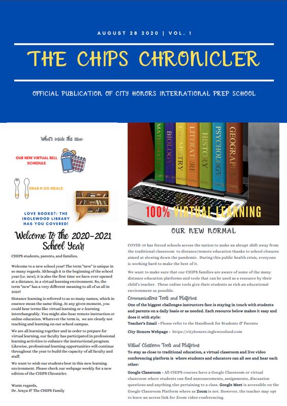 THE CHIPS CHRONICLER