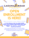 LR Open enrollment flyer with info