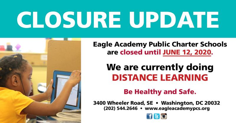 Eagle Academy Public Charter School-Update 4-21-20 Featured Photo