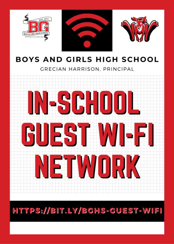 BGHS - In-School Guest Wi-Fi