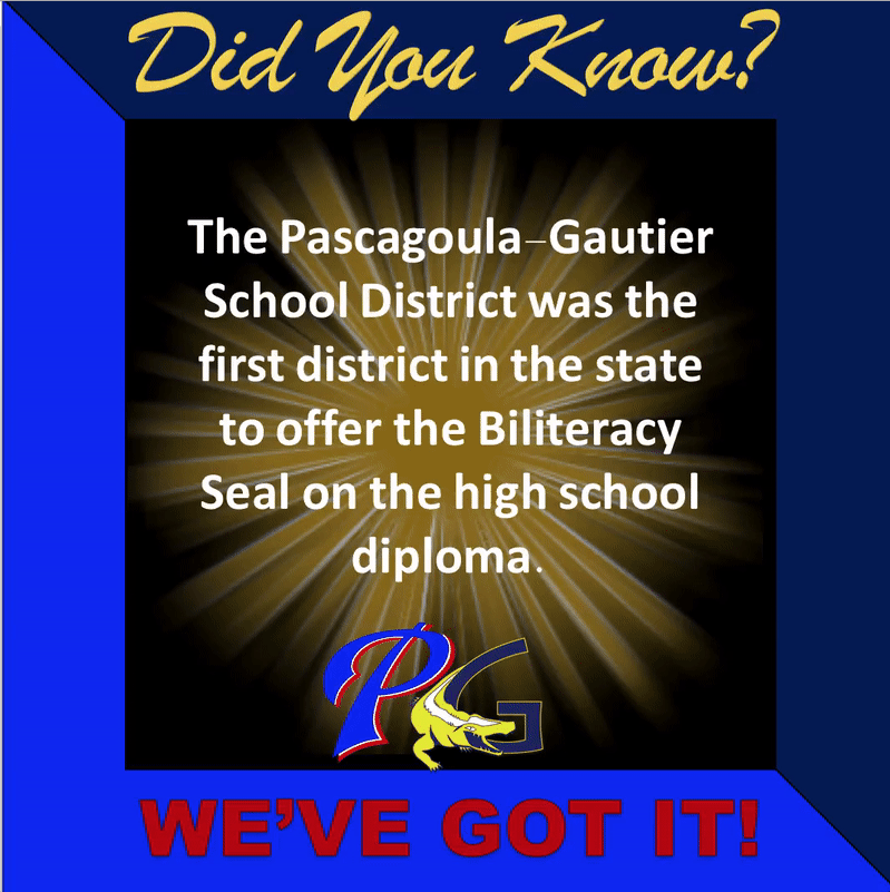 Did you know that PGSD was the first district to offer the biliteracy seal on the high school diploma