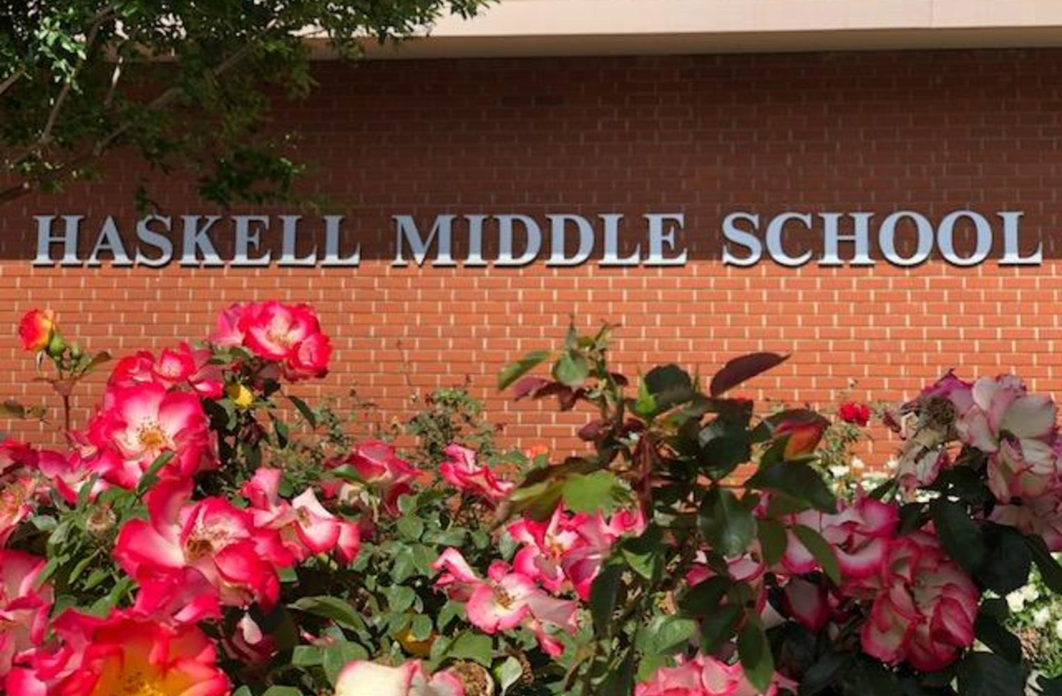 Haskell front of school