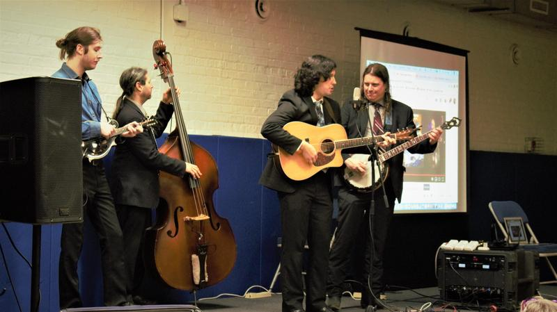 Bluegrass Ambassadors Play For the Students Thumbnail Image