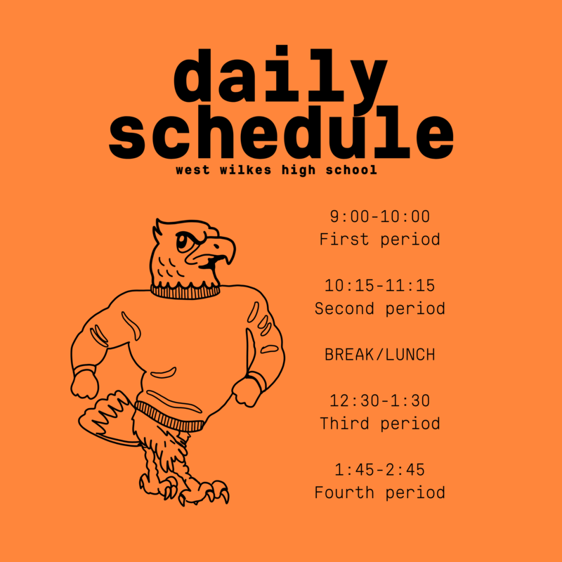 WWHS Schedule--Please read Update below Thumbnail Image