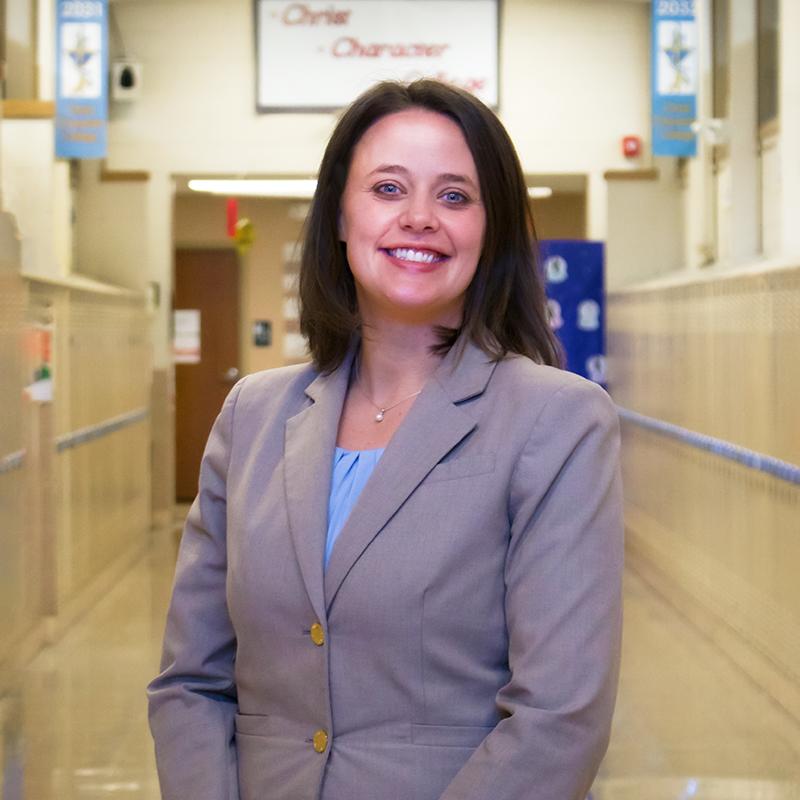 Principal Sarah Weber