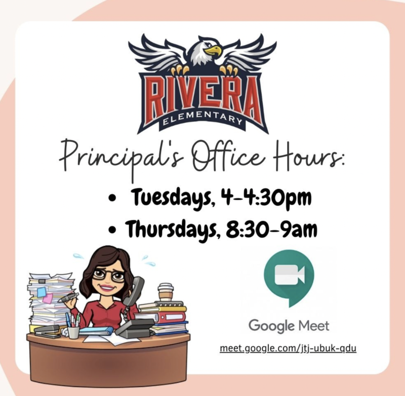 Principal's Office Hours