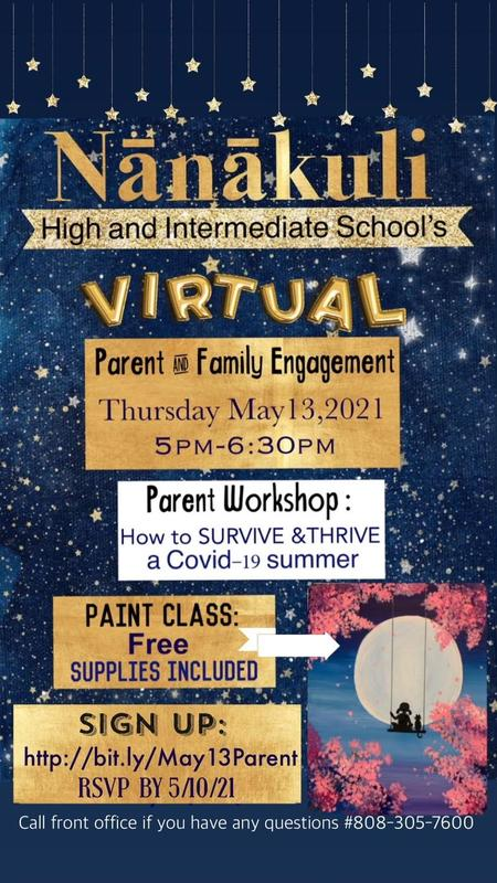 JOIN US FOR OUR UPCOMING PARENT ENGAGEMENT ACTIVITY! Featured Photo