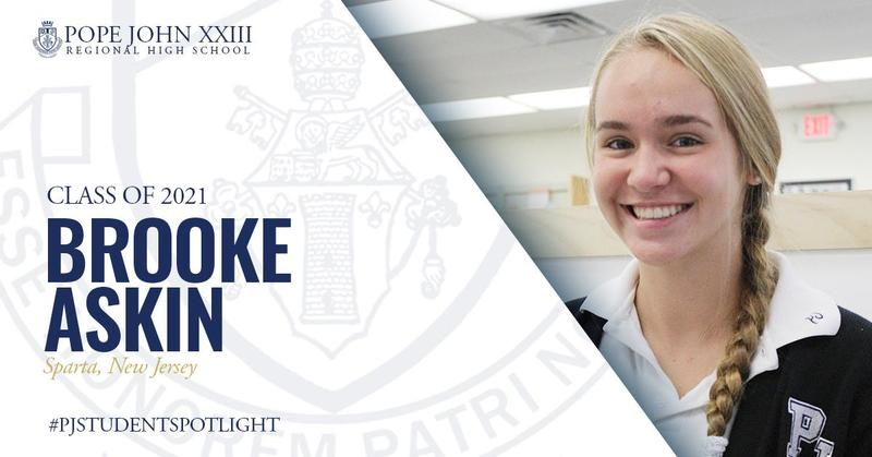 Brooke Askin PJ Student Spotlight