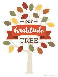 Principal's Bulletin: Nov. 9, 2020: Gratitude Tree Featured Photo