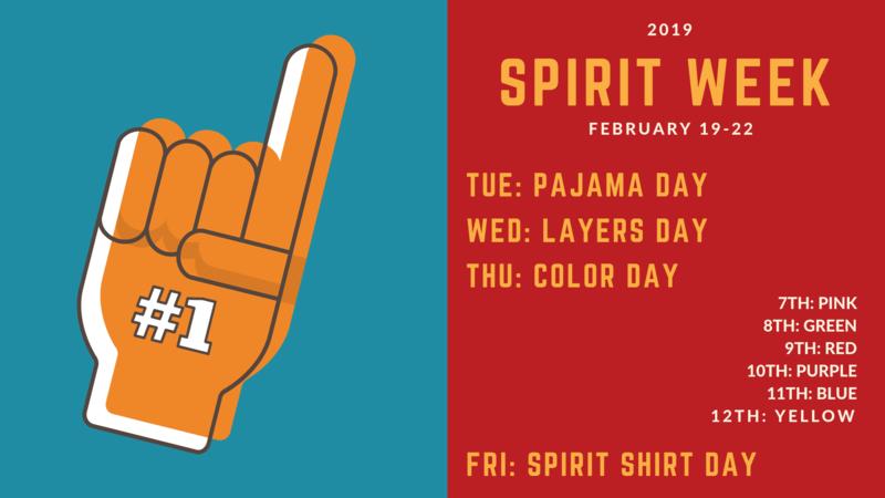 Spirit Week 2019 Featured Photo