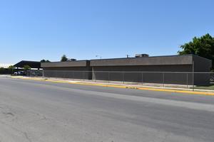 Olive Street Bus Loading Area