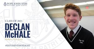 Declan McHale PJ Student Spotlight